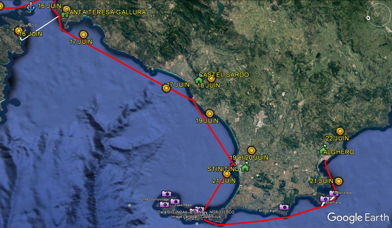 Corse sardaigne nord 4 teresa alghero