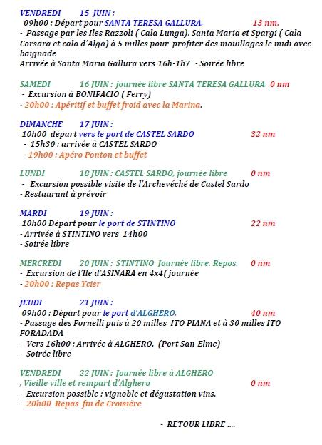 Programme sardenaise 3